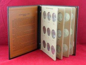 Silver American Eagle Book W/ 36 Coins .999 Silver