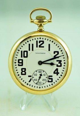 Waltham Vanguard 23 Jewel Size 12 Pocket Watch
