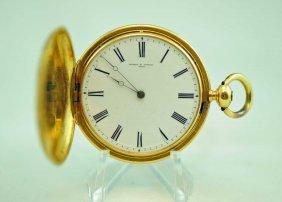 18k Vacheron Constantine Hunter Case Pocket Watch