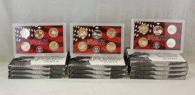 U.s. Mint State Quarters 90% Silver Proof Set