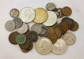 Mixed Group Of U.s. Coins, $2.73 Face 1867 - 1967