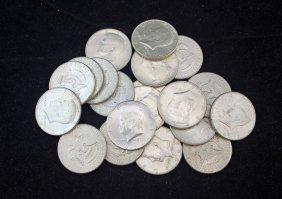 20 - 1964 Kennedy 90% Silver Kennedy Half Dollars