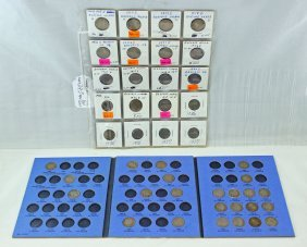 Collection Of 40 Buffalo Nickels 1913 - 1938