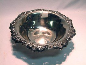 Sterling Tiffany Clover Bowl