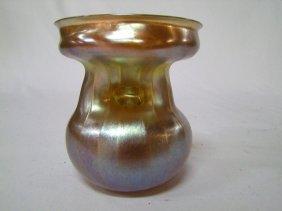 Unusual Gold Tiffany Vase