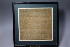 1731 Sampler