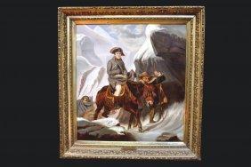 """bonaparte Crossing The Alps"", Paul Delaroche"