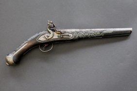 Inlaid Flintlock Pistol