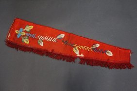Beaded Iroquois Banner