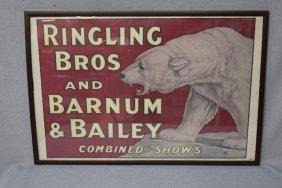 Ringling Bros. Barnum & Bailey Poster