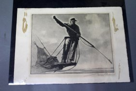 Gordon Grant (1875 - 1962) Lithograph