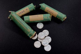 Four Rolls Of Dimes
