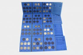 Morgan And Peace Silver Dollar Collection