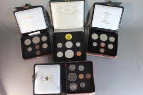 Four Canadian Coin Sets