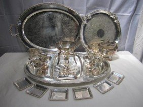 Large Lot Silver Plated Articles