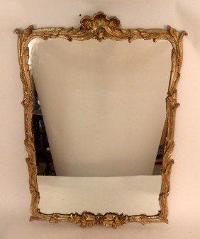 Gilt Gesso Georgian Style Mirror