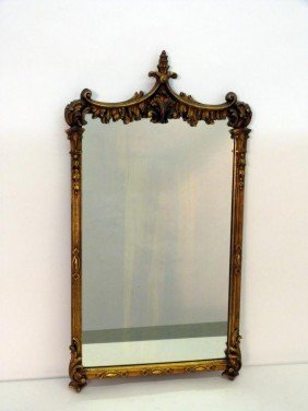 Georgian Style Gilt Gesso Mirror