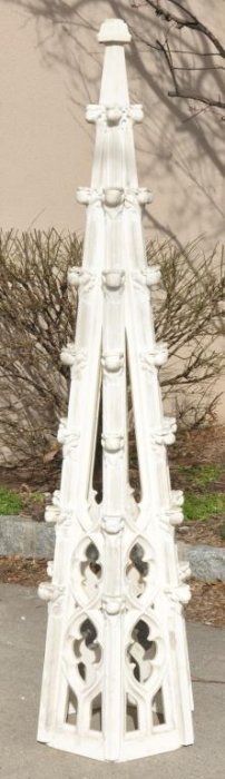 Antique Gothic Style Marble Spire