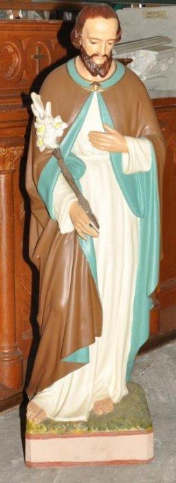 Plaster Statue Of St Joseph