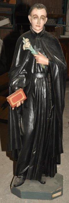 Rare Antique Statue Of St Gerard