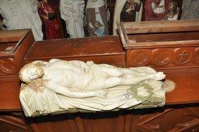 Plaster Statue Of The Savior Jesus