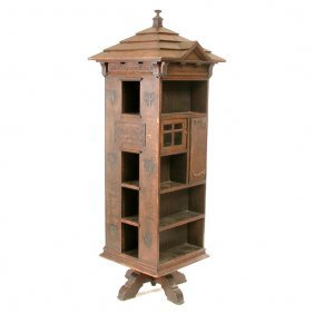Tabard Inn Library Bookcase, Arts & Crafts