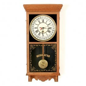 Sessions Regulator Clock, Hour, Minute, Day