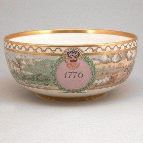 Rare Royal Copenhagen American Bicentennial Bowl
