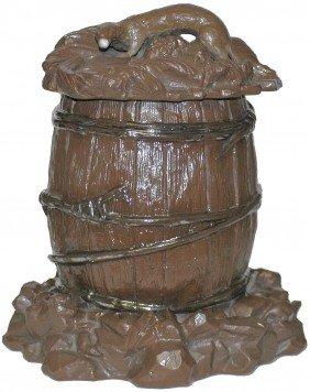 Mettlach Barrel Humidor