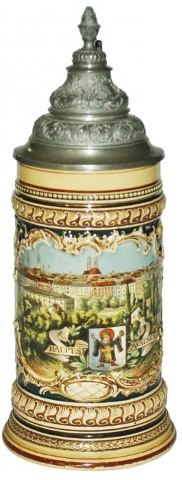 Munich View & Munich Child Relief Stein