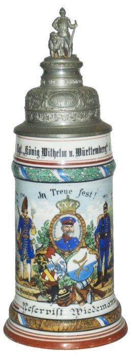 4 Inft Wurttemberg 8 Metz Regimental Stein