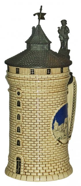 Nurnberg Tower Character Stein