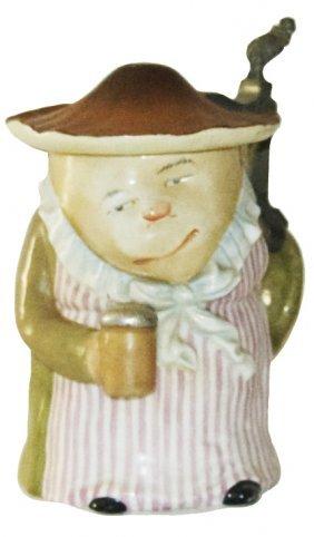 Mushroom Lady W Stein Schierholz Character Stein