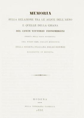 Fossombroni Vittorio