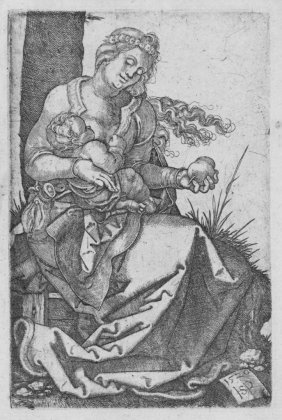 Beham Hans Sebald, Virgin And Child With The Pear