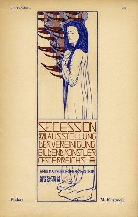 Klimt, Erste Kunstausstellung Der Vereinigung…