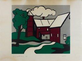 Lichtenstein, Red Barn