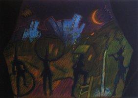 Carlos Almaraz Untitled