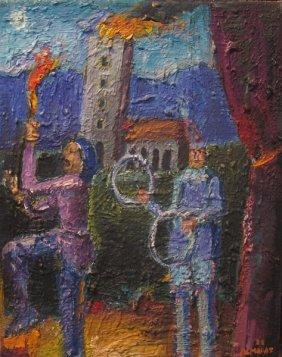 Carlos Almaraz, Providence And Charity, 198