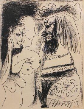 Pablo Picasso Le Vieux Roi
