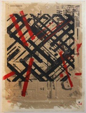 Ed Moses Untitled,