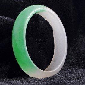 Very Fine Chinese Jadeite Bracelet