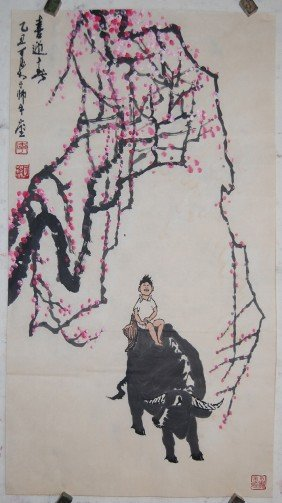 A Very Fine Chinese Painting By LI,Keran