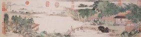 Fine Chinese Painting By Pu Baozirui