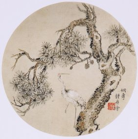 Fine Chinese Painting By  Jin Zhou