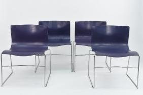 (4) VIGNELLI FOR KNOLL HANDKERCHIEF CHAIRS