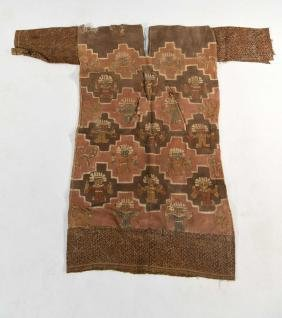 CHIMU PAINTED TEXTILE PONCHO