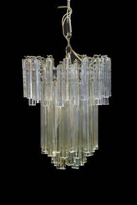 Venini Or Camer Tiered Chandelier