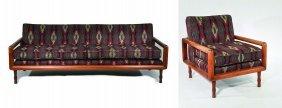 Th Robsjohn Gibbings Style Furniture Suite