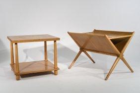 (2) Robsjohn Gibbings Widdicomb Tables